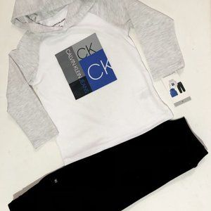 New Clavin Klein Jeans hooded Tshirt and Sweatpant